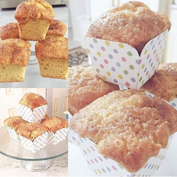 Buy Sugar Free Muffins or Sugar Added Muffins by The Diabetic Pastry Chef