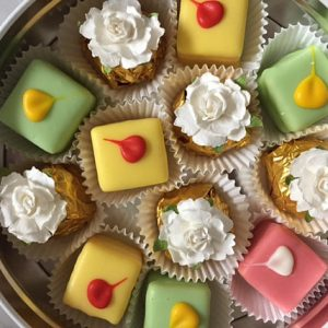 Sugar Free Petits Fours + Sugar Free Chocolate Truffles OR Sugar Added Petits Fours & Chocolate Truffles by The Diabetic Pastry Chef
