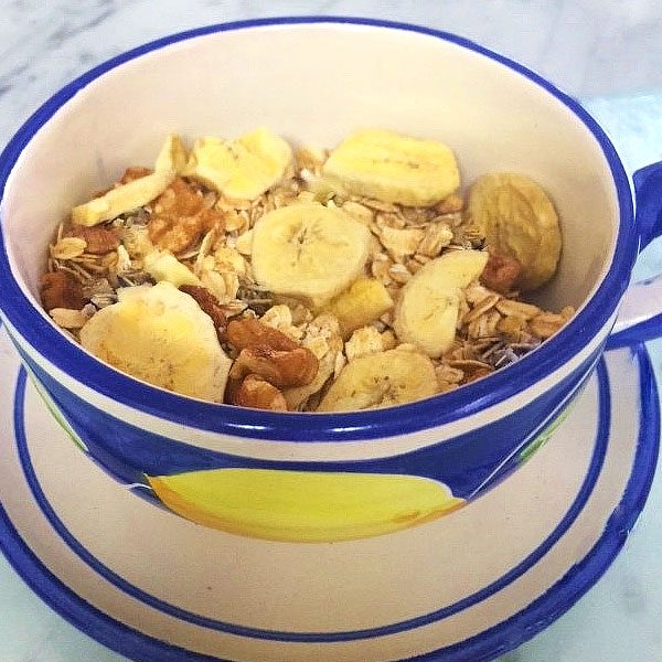 SUGAR FREE Muesli - Banana-Nut | SUGAR FREE Cereal by The Diabetic Pastry Chef™™