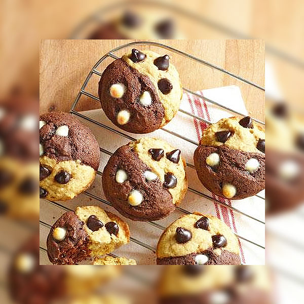 SUGAR FREE Muffins - Half & Half - by The Diabetic Pastry Chef™