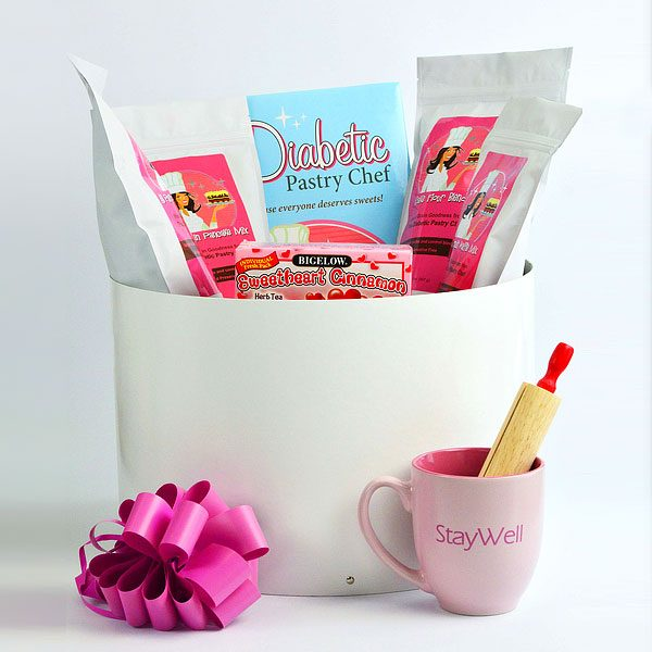 DELUXE Diabetic, Sugar Free Gift Basket by The Diabetic Pastry Chef™