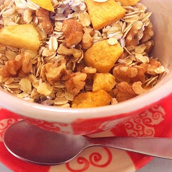 SUGAR FREE Muesli - Peach-Nut | SUGAR FREE Cereal by The Diabetic Pastry Chef™
