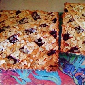 SUGAR FREE Linzer Torte (Almonds Optional) | Raspberry or Apricot by The Diabetic Pastry Chef™
