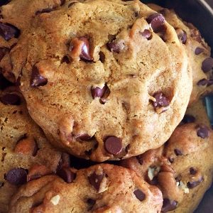Chocolate Chip Cookies with No Sugar Added, by The Diabetic Pastry Chef