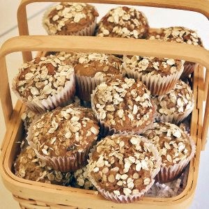SUGAR FREE Muffins - Oatmeal Apple by The Diabetic Pastry Chef™