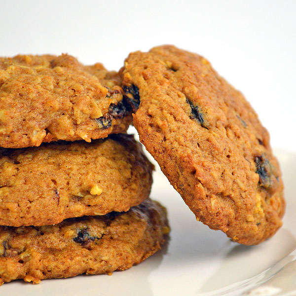 SUGAR FREE Oatmeal Cookies - Raisin-Apple with Pecans or Walnuts - The Diabetic Pastry Chef™