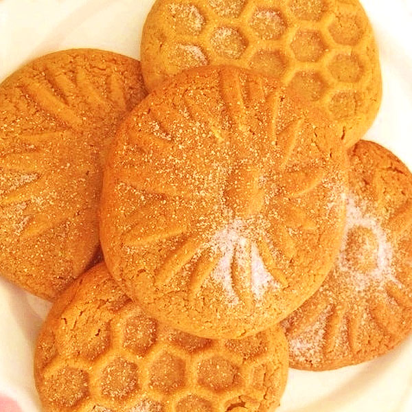 GLUTEN FREE Peanut Butter Cookies, Sugar Free & Chewy, by The Diabetic Pastry Chef™