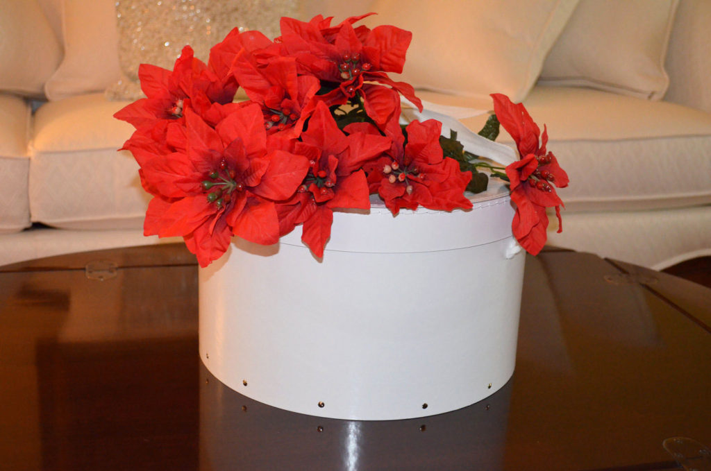 Cake Box with Flowers for SUGAR FREE Pound Cake by The Diabetic Pastry Chef™