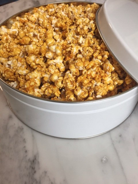 SUGAR FREE Caramel Corn by The Diabetic Pastry Chef