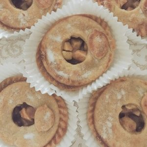 SUGAR FREE Mini Apple Pies / SUGAR FREE Mini Cherry Tarts by The Diabetic Pastry Chef™