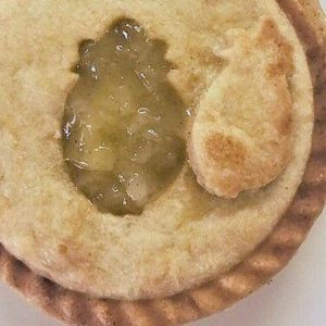Pineapple Mini Pie by The Diabetic Pastry Chef