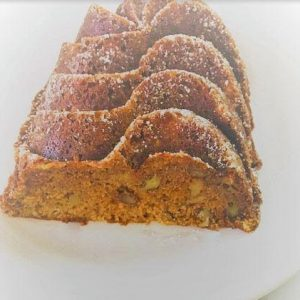 SUGAR FREE Carrot Cake Nut Bread by The Diabetic Pastry Chef™