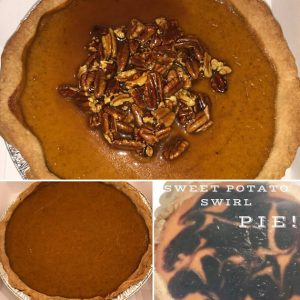 Buy Pumpkin Pie & Sweet Potato Pie by The Diabetic Pastry Chef