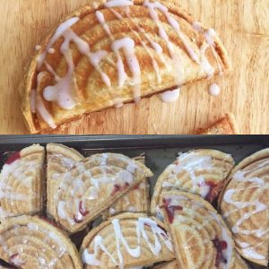 SUGAR FREE Pop Tarts / Hand Pies & SUGAR FREE Hand Pies - BAKED - by The Diabetic Pastry Chef