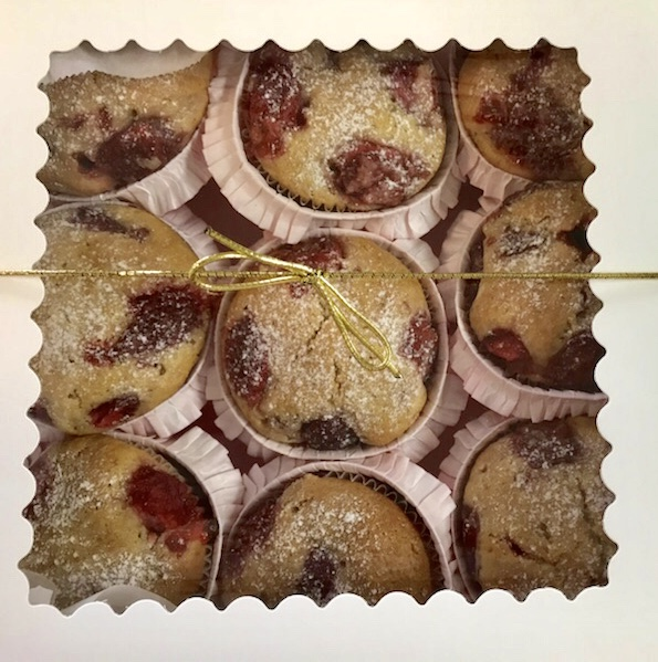 Buy Strawberry Muffins by The Diabetic Pastry Chef