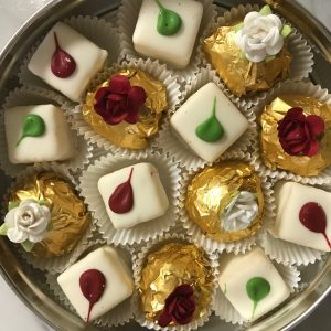 Sugar Free Petits Fours + Sugar Free Chocolate Truffles   Wonderful Birthday Gift, Dessert Table Addition or Wedding Favors! by The Diabetic Pastry Chef
