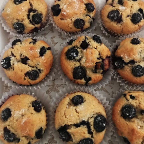 Blueberry Muffins by The Diabetic Pastry Chef™