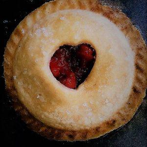 SUGAR FREE Mini Cherry Pies / SUGAR FREE Mini Cherry Tarts by The Diabetic Pastry Chef