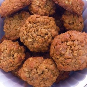 GLUTEN FREE Cookies, Sugar Free Brown Butter-Peach Muesli by The Diabetic Pastry Chef™