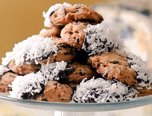 SUGAR FREE Chocolate Chip Cookies OR No-Sugar-Added | Chocolate & Coconut-Dipped | by The Diabetic Pastry Chef™