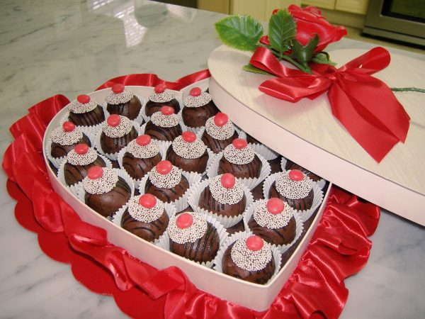 LOW SUGAR Cake Truffles, Chocolate or Vanilla by The Diabetic Pastry Chef™