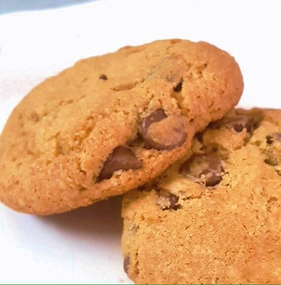 GLUTEN-FREE & Semisweet SOFT Chocolate Chip Cookies by The Diabetic Pastry Chef
