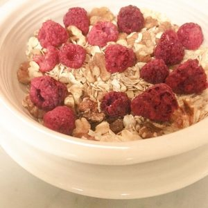 SUGAR FREE Muesli - Raspberry-Nut | SUGAR FREE Cereal by The Diabetic Pastry Chef™
