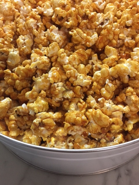 SUGAR FREE Caramel Corn by The Diabetic Pastry Chef™