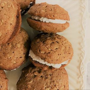 SUGAR-FREE Oatmeal Cream Pies by The Diabetic Pastry Chef™