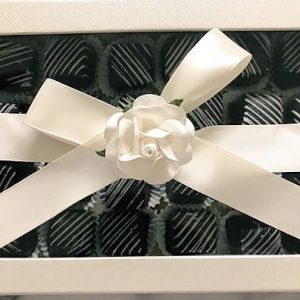 SUGAR FREE Petits Fours in Gift Box | Chocolate, Vanilla or Assorted | Elegant Birthday Gift! by The Diabetic Pastry Chef