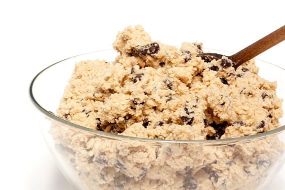 EDIBLE Cookie Dough: Boozy Rum-Raisin Oatmeal (Toasted Pecans Optional) | Sugar-Free (No-Sugar-Added) OR Sugar-Added by The Diabetic Pastry Chef™