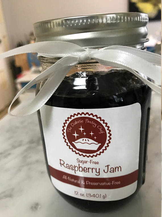 Sugar Free Jam by The Diabetic Pastry Chef™