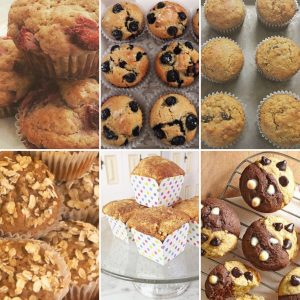 Muffins by The Diabetic Pastry Chef