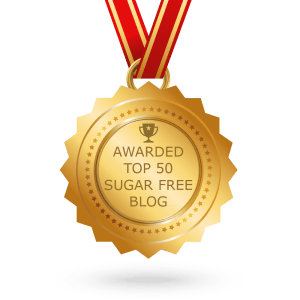 Top 50 Sugar-Free Blog Award